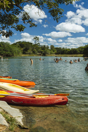 Chapada Diamantina Lifestyle Pratinha, Bahia, Brasil Day Joy Of Life Kayak Lake Lifestyles Nature Outdoors Travel Destinations Tree Water Connected By Travel Done That. Lost In The Landscape