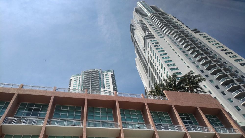 Architecture Building Exterior City Outdoors No People Sky Day Modern Built Structure Miami FL Usa 🇺🇸☀️