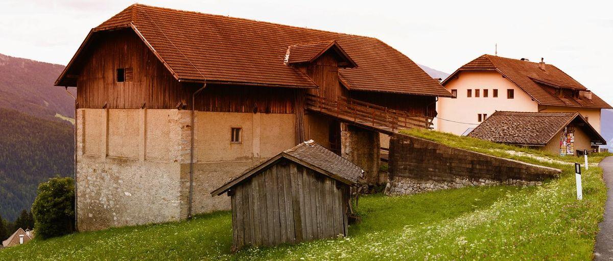 House against sky