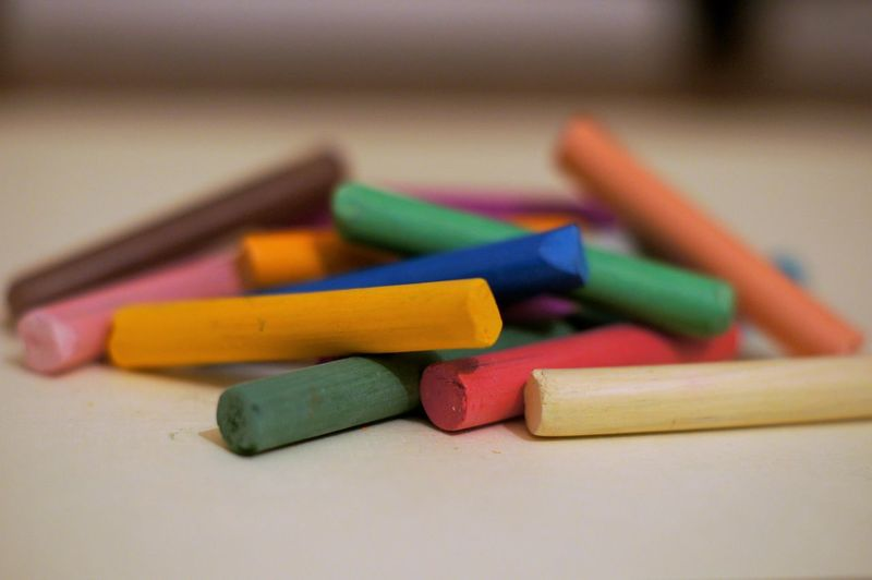 Close-up Colored Pencil Indoors  Matchstick Multi Colored No People Wood - Material