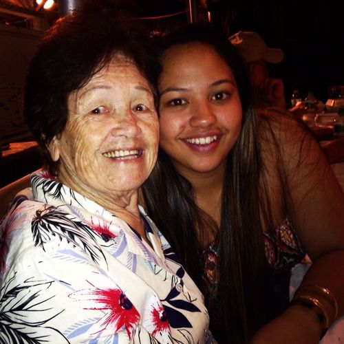best great grandmother in the world. words cannot explain how much I love Kawelinaonapua