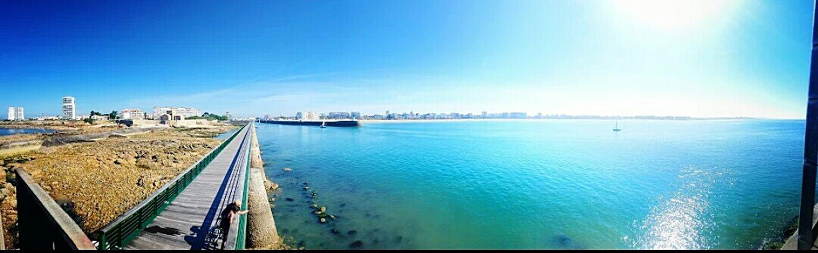 Panorama Lessablesdolonne Paysage Blue Sky France