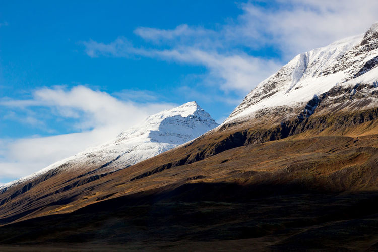Hiking Iceland Traveling Beauty In Nature Cloud - Sky Cold Temperature Day Height Landscape Mountain Mountain Range Nature No People Outdoors Peak Range Scenery Scenics Sky Snow Snowcapped Mountain Tranquil Scene Tranquility Wallpaper Winter