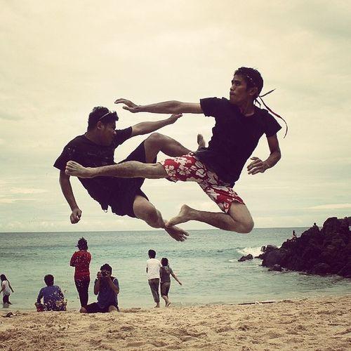 Fight!! INDONESIA Backpackermanado Sitoutimoutumoutou Instanusantarasulawesi pulisan beach hidden paradise gangmanado