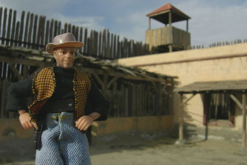 Cowboy Diorama Dioramas Madelman Oeste Texas Hollywood Toys Art Vacations Western