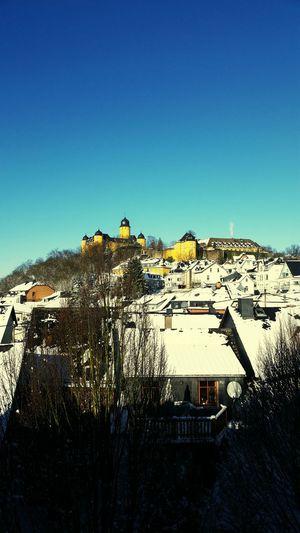 Schloss Montabaur Schönes Wetter Sonne <3 Schnee Blauerhimmel Loveit