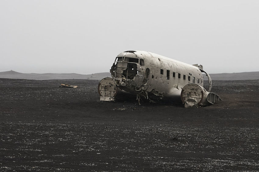 Abandoned Air Vehicle Airplane Broken Check This Out Cockpit Crashed Crashed Plane Day Old Plane Outdoors Travel Vehicle