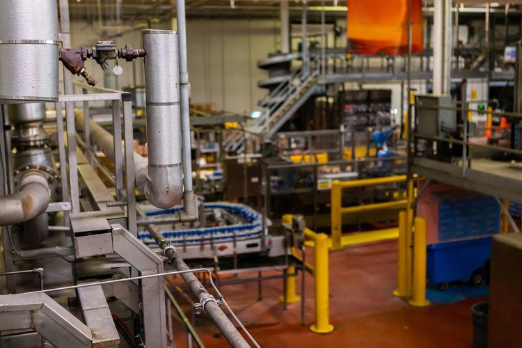 Interior of factory