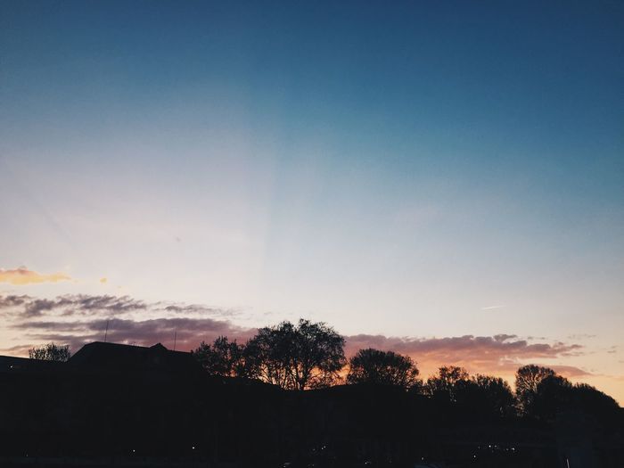 Sky Tranquility Outdoors Sunset First Eyeem Photo