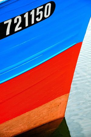 721150 Blue Red No People Outdoors Water Close-up Day Ship Multi Colored