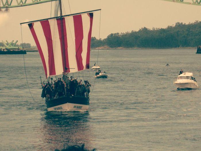 Catoira Desembarco Vikingo