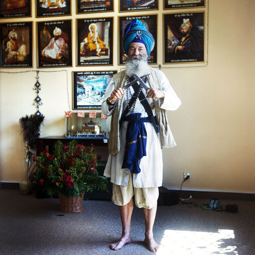 Nahim Traditional Clothing Warsaw Film Photography Indoors  Looking At Camera One Person People Photography Portrait Real People Senior Adult Sikh Sikh Symbol Sikhism Sikhlife Turban EyeEmNewHere