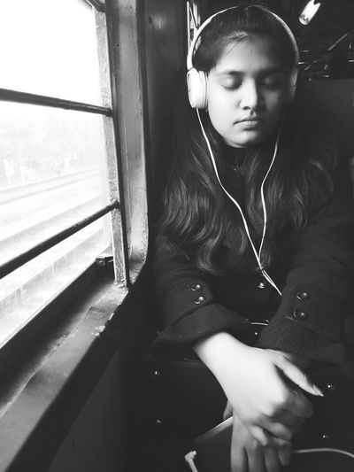music is my soul. Headphones Music Young Adult Indoors  One Person People Listening