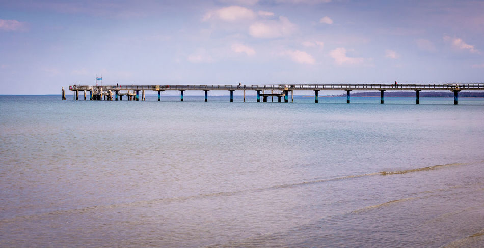 www.felix-junker.de Beauty In Nature Built Structure Cloud Cloud - Sky Cloudy Day Horizon Over Water Idyllic Nature No People Non-urban Scene Ocean Outdoors Pier Remote Scenics Sea Shore Sky Tranquil Scene Tranquility Travel Destinations Water Wood - Material Wooden Post