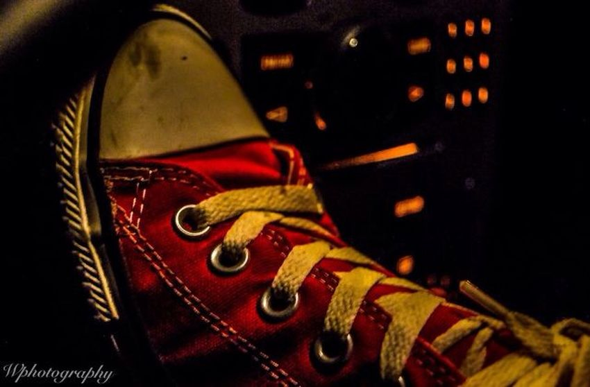 Converse Converse Sneakers Allstar Wphotography Red