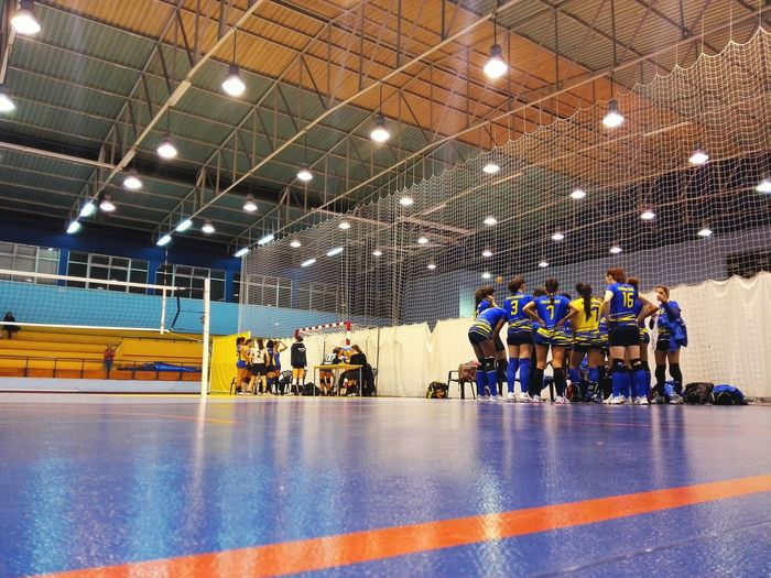 Volleyball TeamIndoors  Illuminated Portugal Lisbon Honor6 Ground Level View Volley Volleyball Game Allgirls Girl Power Sports Sport In The City The Photojournalist - 2017 EyeEm Awards The Photojournalist - 2018 EyeEm Awards