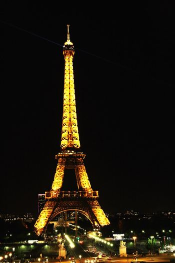 Paris Eiffel Tower Eiffel_tower  Lights Night Nightphotography Night Lights Architecture Travel Destinations Tower Cultures Tourism Travel City Built Structure Building Exterior Illuminated History Monument Outdoors Sky France City City Life Cityscapes