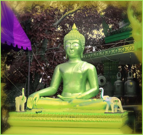 Victor Noc Art 🎱 Victor Noc Art La Collina Del Budda Thailandia 2015 VicNoc Vittorio Nocente Photo Pattaya City Sfumature Art Thailandia