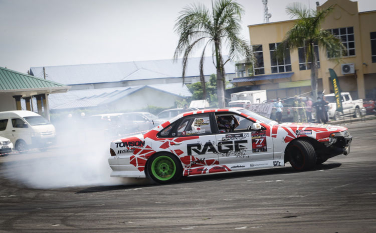 Cefiro in action Drifting Cefiro Nissan A31 Sideways