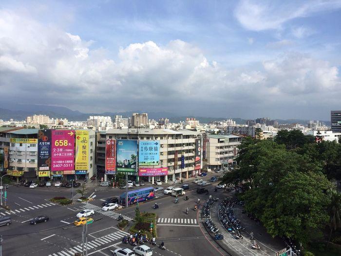中興 風景 台中 台灣 山 街道 Taiwan Taichung Nchu 台湾 山 Sky Montaion 空