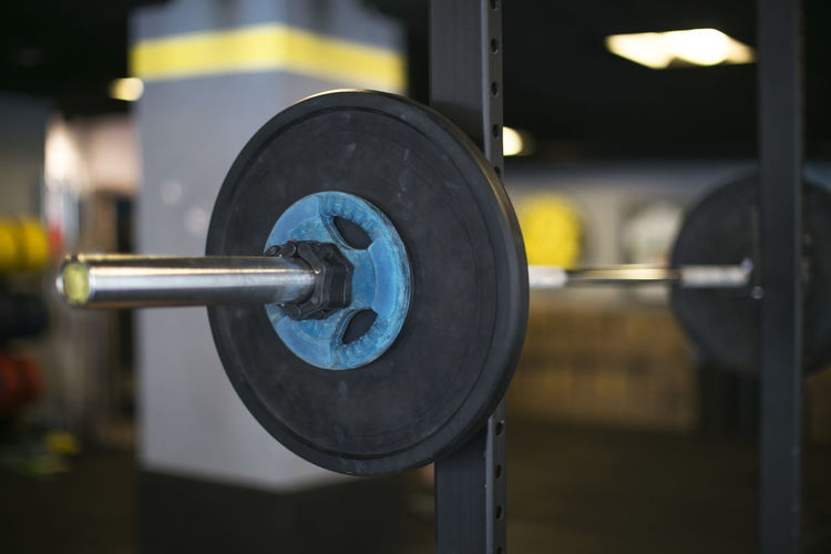 Barbell Crossfit Gym Health Club No People Sport Weightlifting Weights