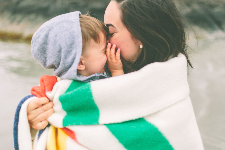 EyeEmNewHere Mother Blanket Bonding Casual Clothing Childhood Close-up Daughter Day Family With One Child Focus On Foreground Happiness Lifestyles Love Mother Nature Outdoors People Real People Son Togetherness Young Adult Human Connection