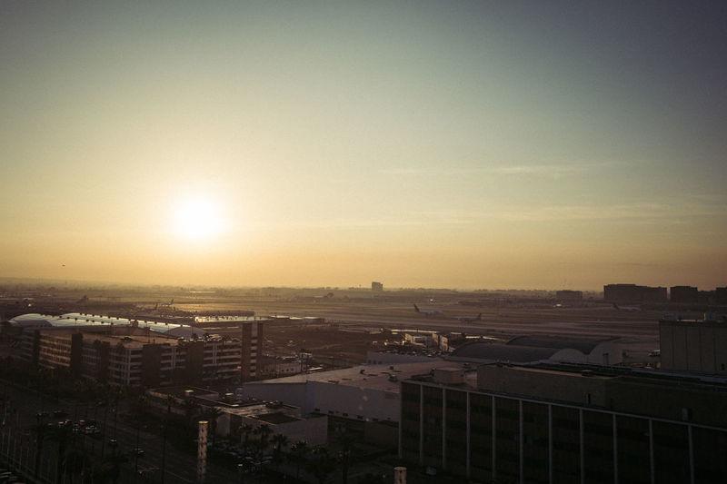 LAX sunrise /
