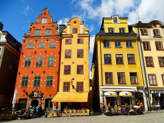 Stockholm Stortorget Gamla Stan Architecture Sightseeing Beautiful Buildings