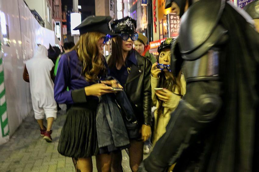 Halloween Costumes Halloween Horrors Night Photography Halloween2015 Beautiful Girls  Tokyo Halloween Halloween EyeEm From My Point Of View Happy Halloween! Street Photography Halloween Tokyo Street