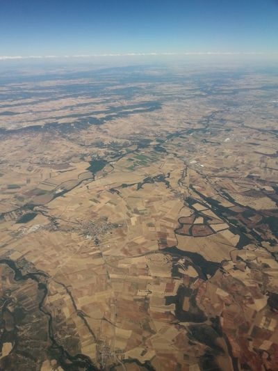 Aerial View Nature Above The Earth Sky Firstime