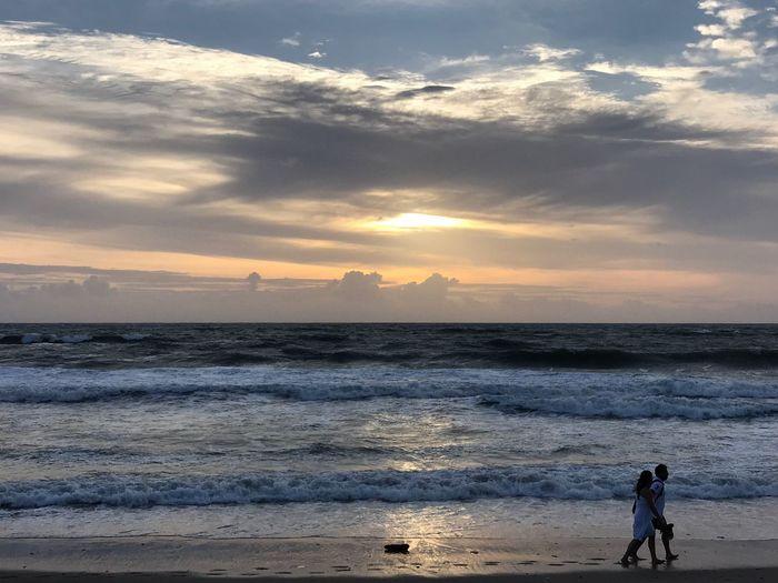 Sea Sunset Beach Seminyak Alilaseminyak Bali, Indonesia Travel Photography