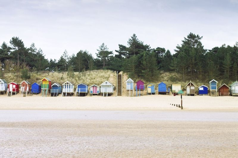 Beach Beach Photography Beach Life Beach Huts Landscape Architecture England Nature