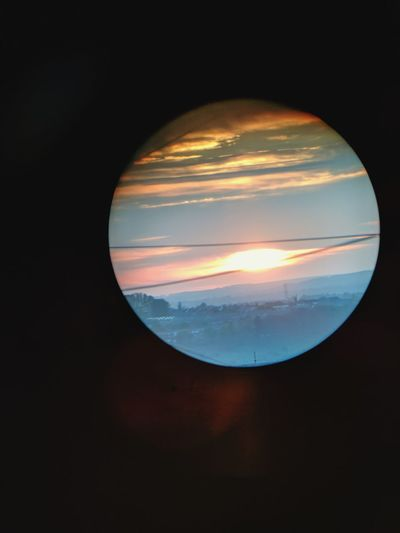 Astronomy No People Outdoors Sunset Planet - Space alien planet or sunset? Perspective