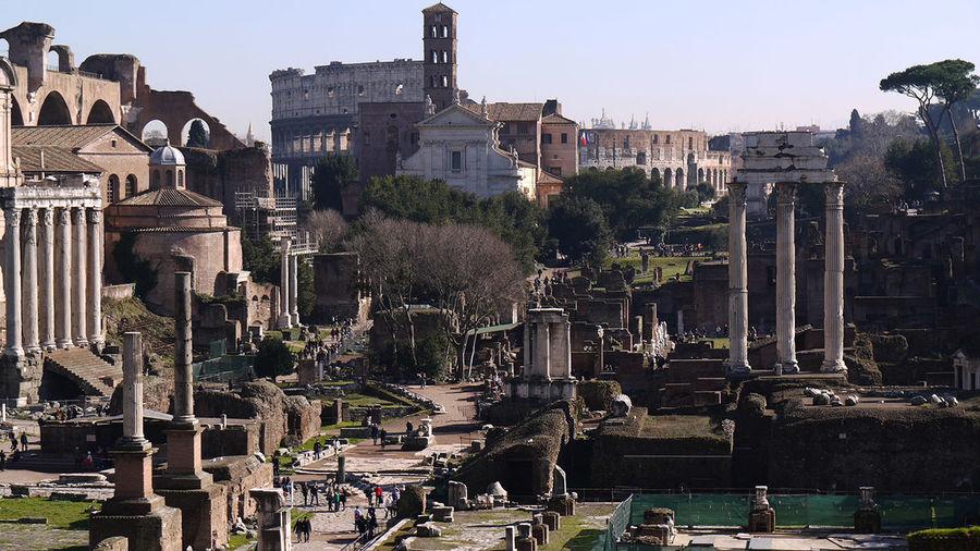 MMDCCLXIX Dies Natalis 2769°Natale Di Roma Foro Romano