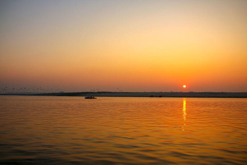 Ganga Ghat Gangamstyle Gangaramaya Temple Ganga Ganga River Gangariver Sky Sunset Water Waterfront