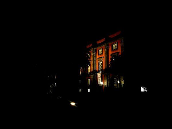 Passeggiata notturna #napoli No People Politics And Government Outdoors City