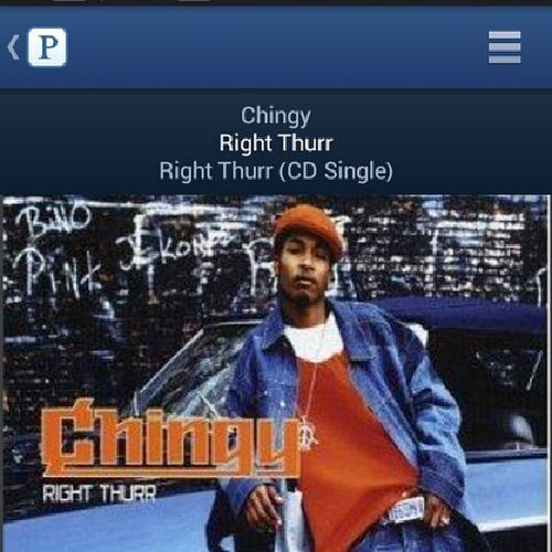 Lol now where did this nigga go? Chingy Rightthurr Flashback Flashbackmusic pandora radio tag4tags like4likes