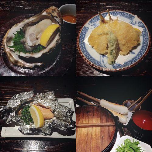 秋田山形日記 DAY 2 秋田きりたんぽ屋② 舌代を見て、迷って選んだメニューたち👅✨ メニューにあると食べたい衝動、おっきな牡蠣(時価)!✨ すんばらしいおいしさでした!😆👏🏼👏🏼👏🏼 生牡蠣、最高!!۬৺۬✧ 秋田名物・ハタハタから揚げは、天ぷら?のような風貌でした🤗 でも、から揚げとして食べ、ふわふわの身がおいしすぎました!🐟✨ ハタハタ、最高!!۬৺۬✧ ヒトメボレして注文した、大きなタラコのホイル焼きは、贅沢感でいっぱいでした!😂 美しいつぶつぶピンク色💕 タラコ、最高!!۬৺۬✧ そして、メインのきりたんぽ鍋!✨✨ これは、鍋に入れるところからテーブルで調理してくれるので、パフォーマンスも楽しめるモノでした!🤗 きりたんぽ鍋パフォーマンスは、お次のページで👋🏼😊 つづく。 秋田山形日記 秋田 秋田きりたんぽ屋 きりたんぽ バタバタ 牡蠣 生牡蠣 時価 たらこ 秋田名物 夜ごはん 旅行記 旅行 旅 酒処 舌代