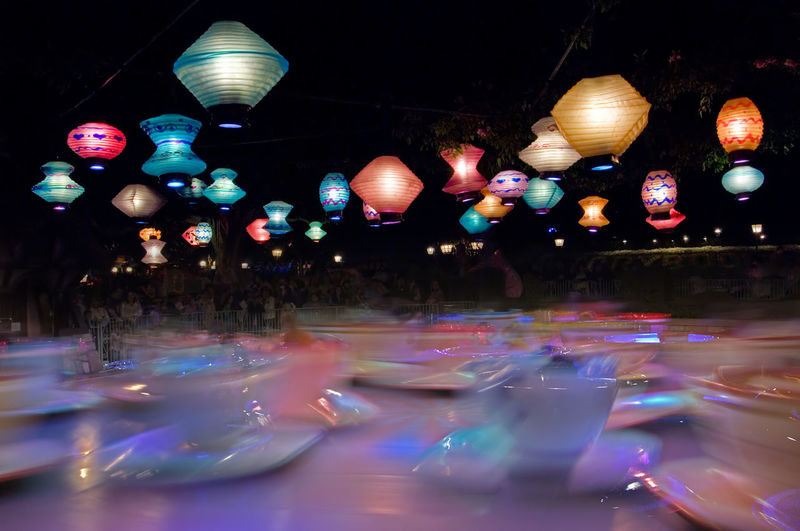 Chinese Lanterns Colorful Colorful Landscape Disneyland Illuminated Multi Colored Ride Swirl Swirling Colors Teacups Teacups Rid Teacups Ride Pivotal Ideas Whatwhowhere Pattern Pieces