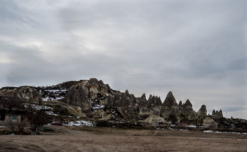Capadokia,Turkey Day Nature No People Outdoors Rock - Object Scenery Sky