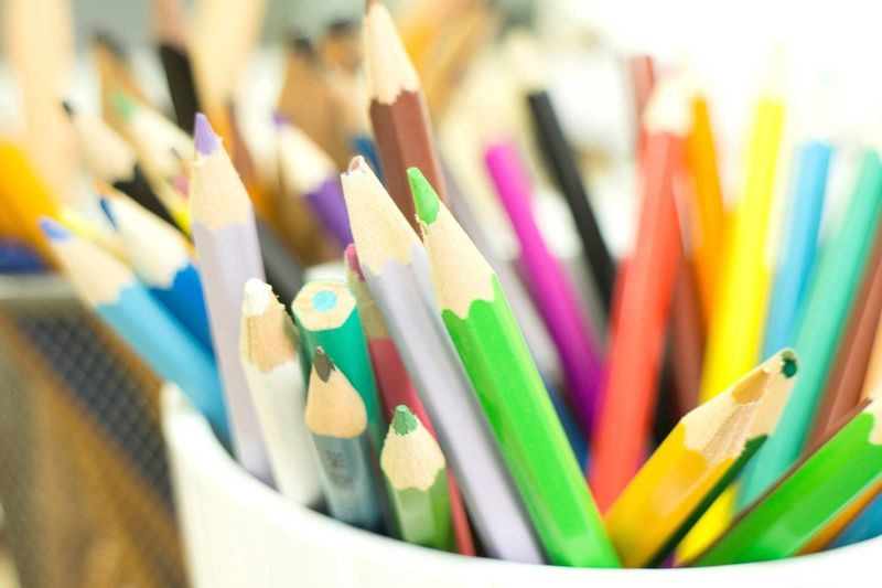 Pencils Exploring Style Multi Colored Colored Pencil Close-up Variation No People Indoors  Crayon Day Choice Pencil Large Group Of Objects Group Of Objects Indoors  Variety Desk Organizer