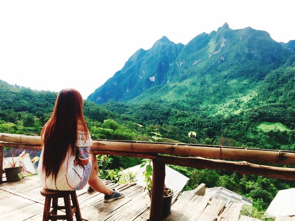 ธรรมชาติที่สวยงาม Relaxing Hello World Chillingday My Holidays Travelgram Traveler Girl Travel Mountain View EyeEm Nature Lover Ilovethailand Holiday Trip