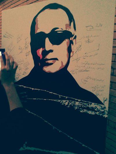 مراسمی برای مرحوم عباس کیارستمی در این مراسم هنرمندان زیادی تشریف اورده بودند اصغرفرهادی رخشانه_بنی_اعتماد پرویزپرستویی
