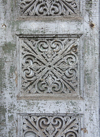 old door with ornament Antique Beautiful Decay Entrance European  Gate Old-fashioned Ornament Charming Decayed Beauty Decaying Decoration Door Metal Old Peeling Off Peeling Paint Shabby Chic Worn