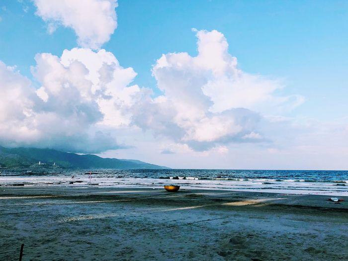 Mykhebeach Danang, Vietnam Sky Water Sea Cloud - Sky Scenics - Nature Beach Beauty In Nature
