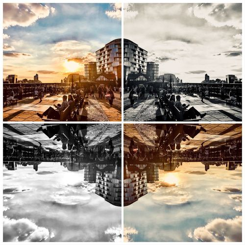 When faced with a dilemma - be creative Collage United Kingdom Streetphotography Travel Photography ShotOnIphone Uk London Mobilephotography IPhoneography LONDON❤ ShotOnIphone Cloud - Sky Sky Nature Digital Composite No People Outdoors Architecture Day Building Exterior Symmetry Building