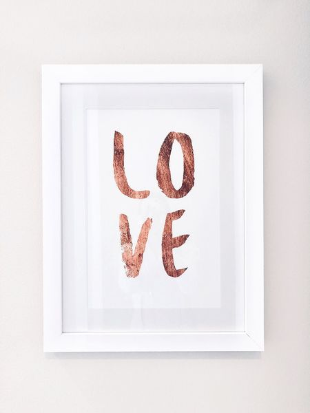 Word Indoors  No People Creativity Studio Shot Art And Craft Wall - Building Feature Picture Frame Close-up Frame White Color Text Love