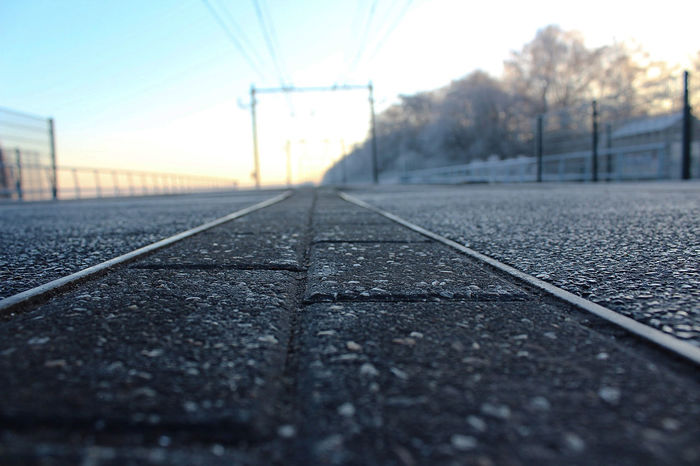 Close Up Close Up Photography Close Up Technology Close-up Closeup Closeupshot Cold Cold Days Cold Temperature Cold Winter ❄⛄ Focus Focus On Foreground Focused Helmond Holland Netherlands Netherlands ❤ Rail Transportation Railroad Track Railroad Track Railroad Tracks The Way Forward Winter Wintertime