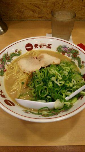 Enjoying A Meal Enjoy A Meal Ramen Food Porn Lunch Time! ラーメン Tokyo Ikebukuro Ikebukuro 天下一品\(°Д° )/コッテリネギトッピング!
