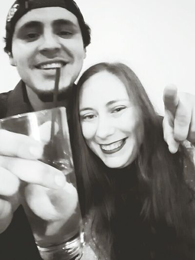 My brother and me 💚 Two People Smiling Fun Togetherness Drinking Adults Only Enjoyment Young Adult Cheerful Celebration Food And Drink Drink Adult Portrait Alcohol Young Women Women Happiness Leisure Activity People